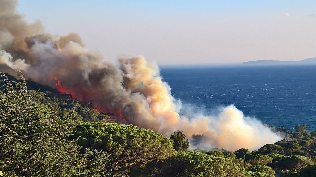 Feuer in Gigaro